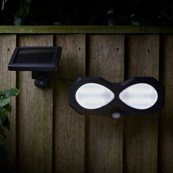 Smart Garden Solar PIR Security Light (200 Lumens)