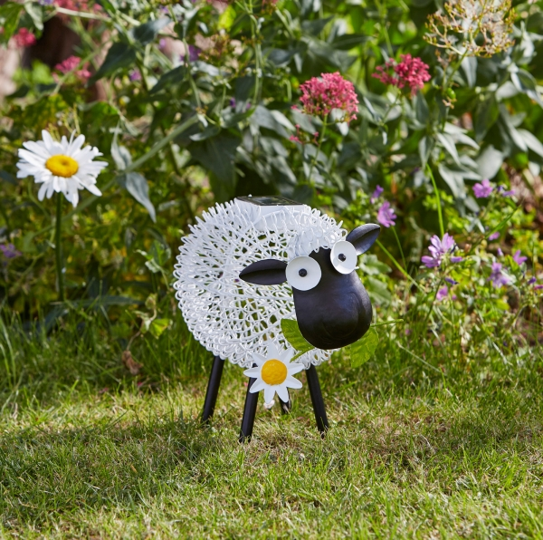Smart Garden Solar Silhouette Dolly Sheep Light