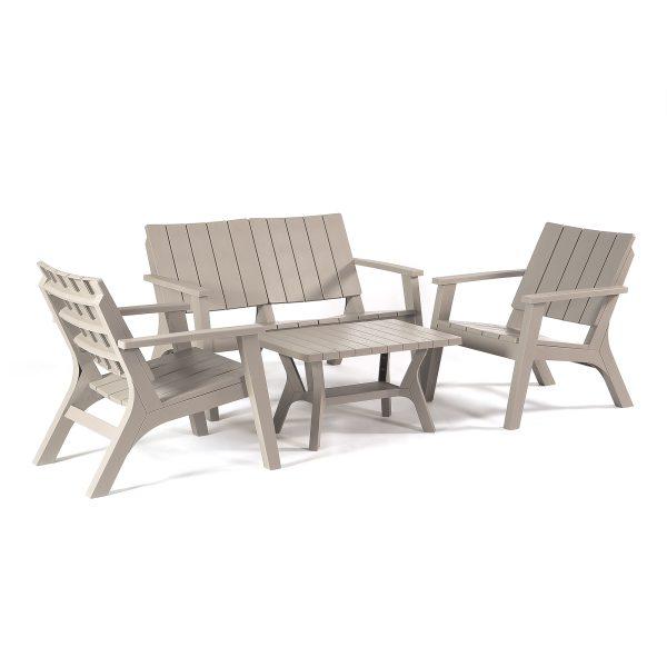 Bondi Garden Furniture Lounge Sofa Set in all weather material