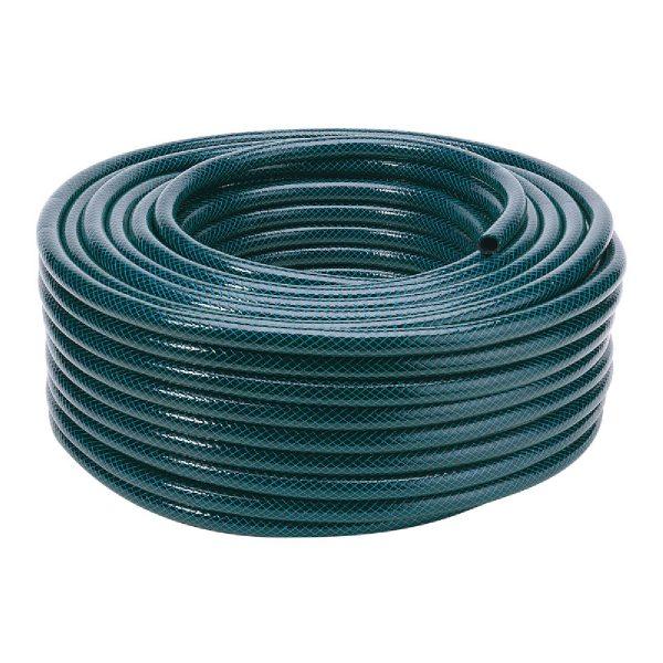 Draper 12mm Bore Green Watering Hose - 50m