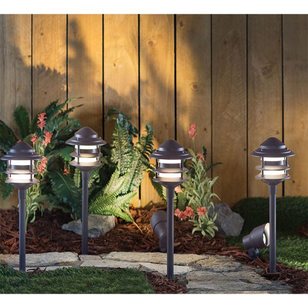 Duracell LV503 Low Voltage LED Garden Lights - 6 Pack