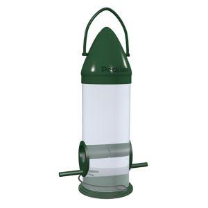 Peckish Plastic Seed Click top Bird feeder 0.6L