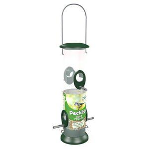 Peckish Plastic & steel Seed All weather Bird feeder 0.7L