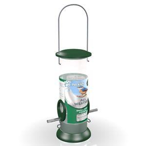 Peckish Stainless steel All weather Bird feeder 0.7L