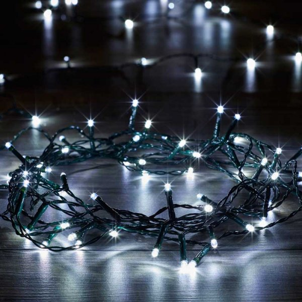 Smart Garden 100 LED Eco String Lights (Cool White)