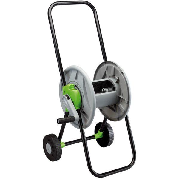 Draper Garden Hose Reel Cart - Black and Green