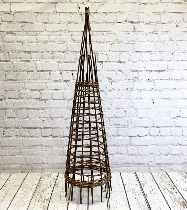 Rustic Willow Garden Obelisk (1.5m)