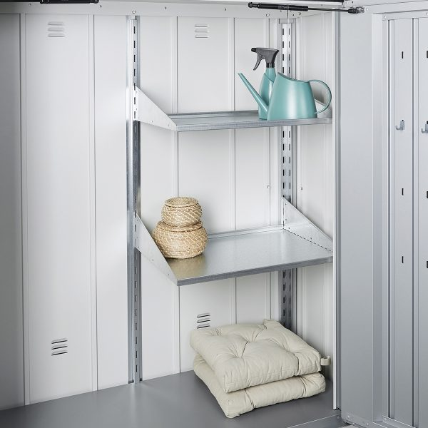 Biohort Shelf Set For Patio Locker Romeo Size M & L