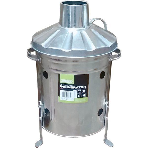 Draper Galvanised Mini Incinerator