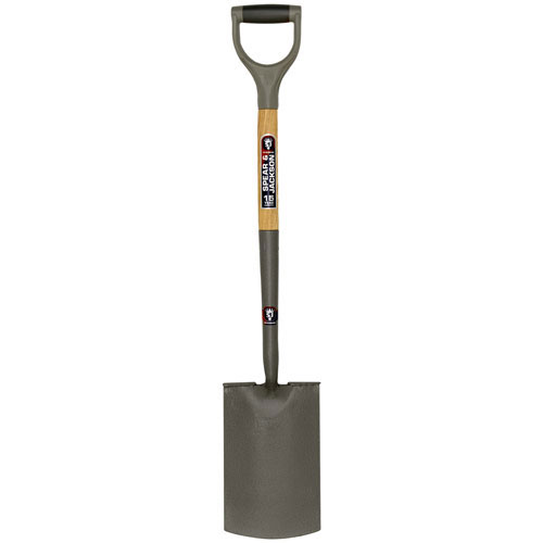 Spear and Jackson Neverbend Carbon Treaded Digging Spade