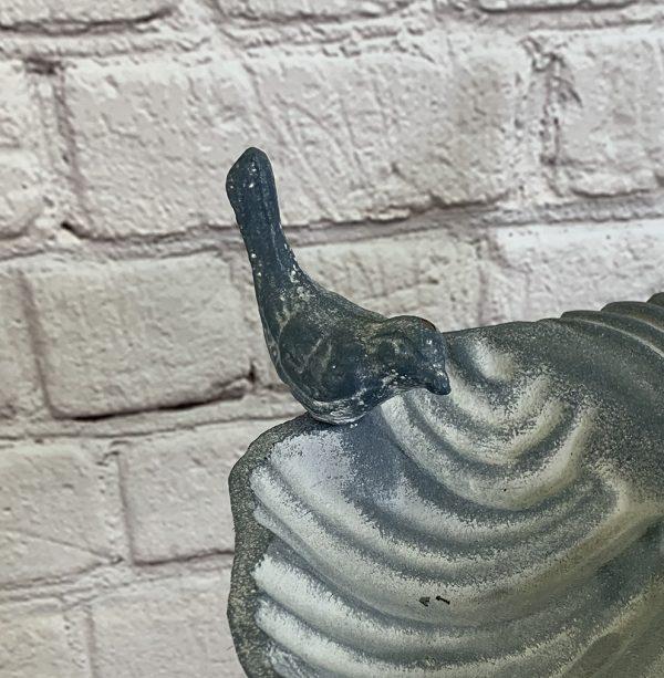 Cast Iron Bird For the Windsor Grey Bird Bath