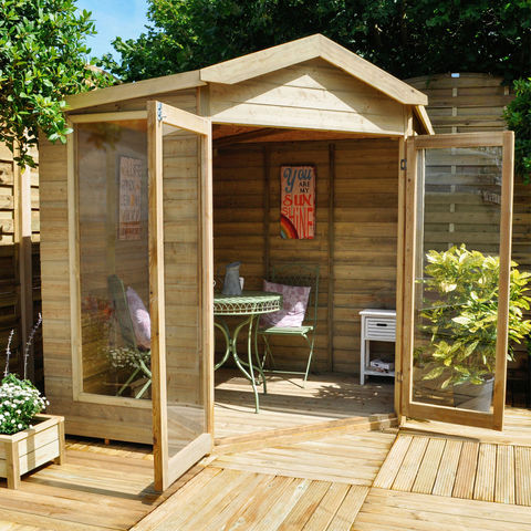 Forest Forest Blockley Summerhouse (Assembled)