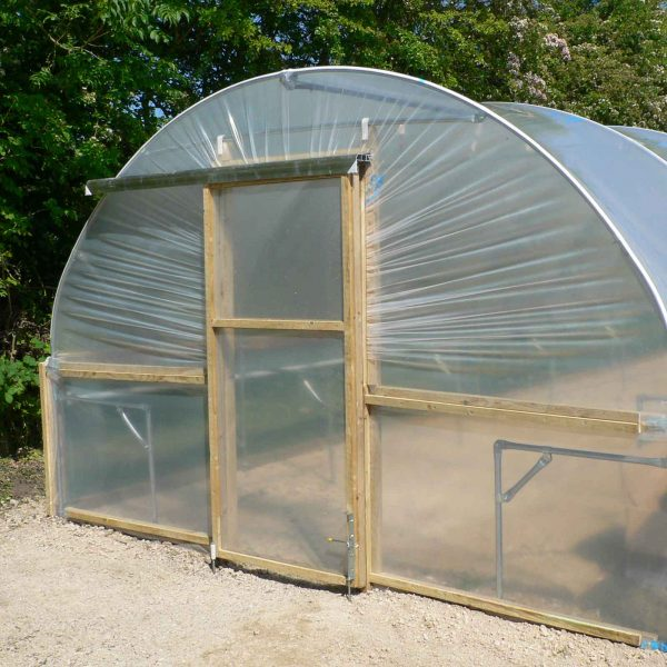 Polytunnel 12ft Wide With Sliding Doors