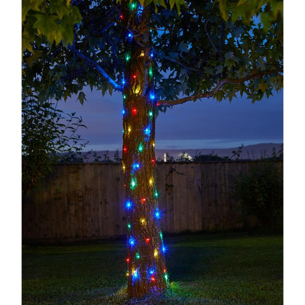 Smart Garden 100 Multi-Coloured Firefly String Lights