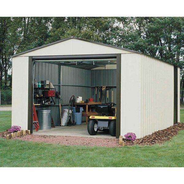 Rowlinson Murry Hill 12ft x 10ft Metal Garage