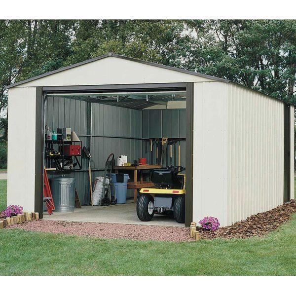 Rowlinson Murry Hill 12ft x 17ft Metal Garage