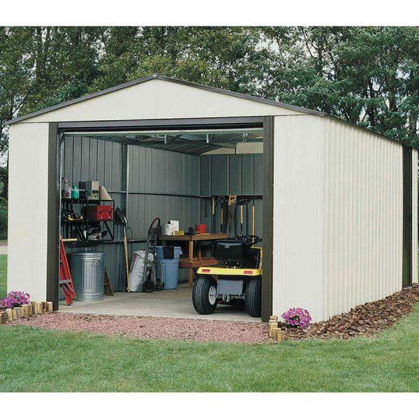 Rowlinson Murry Hill 12ft x 24ft Metal Garage