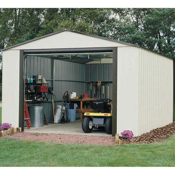 Rowlinson Murry Hill 12ft x 32ft Metal Garage