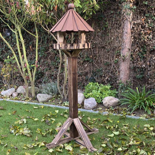 Gardenature Kirby Birch Plywood Bird Table