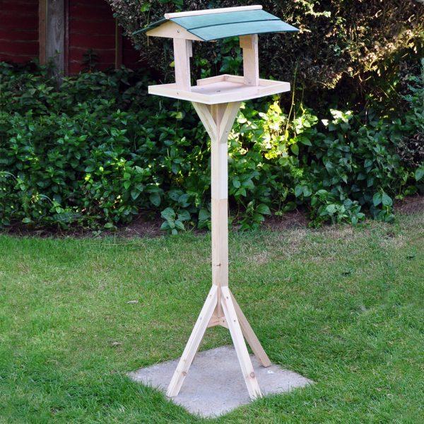 Kingfisher Wooden Garden Bird Table