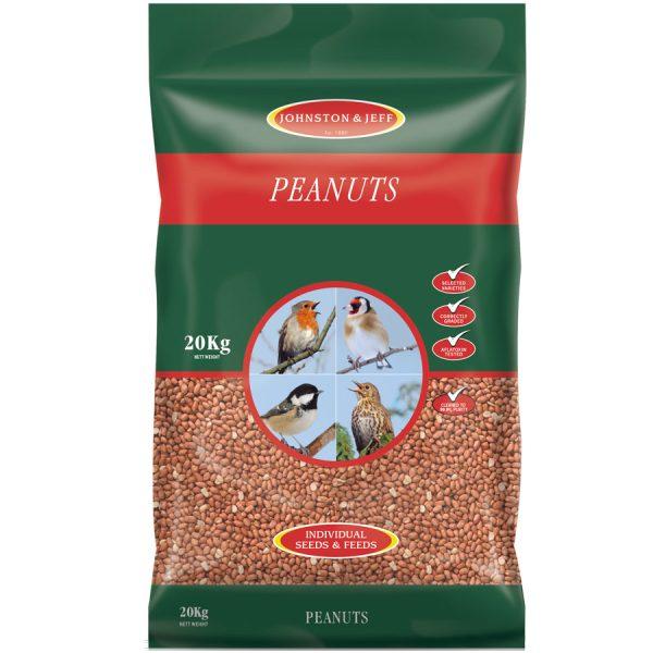Johnston & Jeff Peanut Bird Food - 20kg