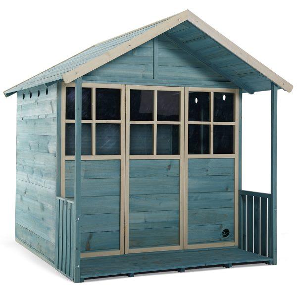 Plum Deckhouse Wooden Playhouse - Teal