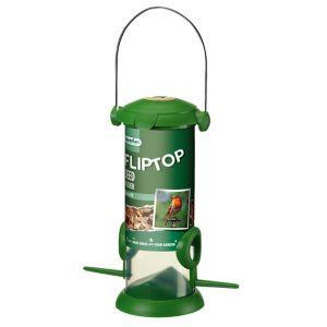Westland Flip Top Plastic & steel Seed Bird feeder