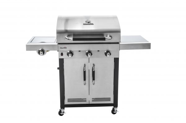 Char-Broil Advantage Series 345S 3 Burner Gas Barbecue Grill with TRU-Infrared technology (Stainless Steel)