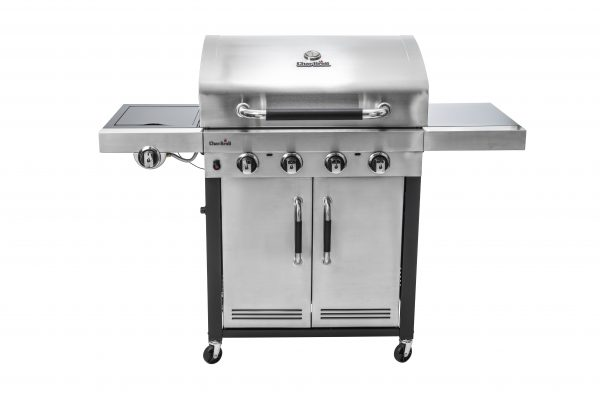 Char-Broil Advantage Series 445S 4 Burner Gas Barbecue Grill with TRU-Infrared technology (Stainless Steel)