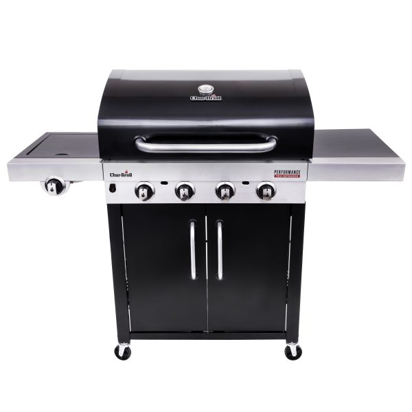 Char-Broil Performance Series 440B 4 Burner Gas Barbecue Grill with TRU-Infrared technology (Black)