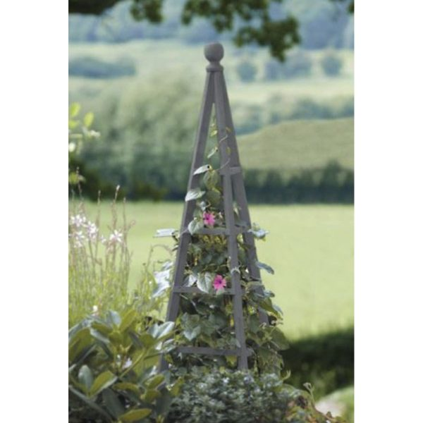 Smart Garden Hanging Garden Woodland 1.9m Obelisk - Grey