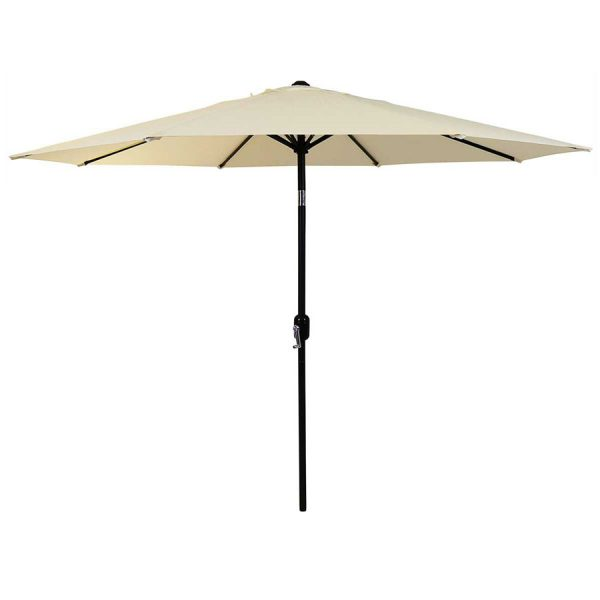 Charles Bentley Market Garden Parasol - Beige