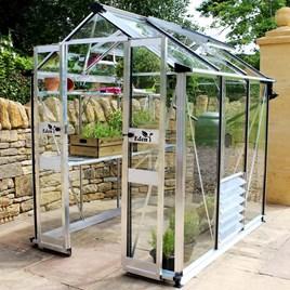 Eden Birdlip 44 Greenhouse - Black Aluminium
