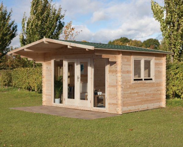Forest Abberley Log Cabin - 13ft x 10ft