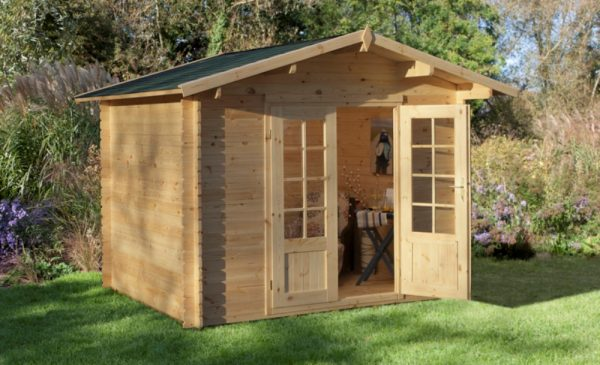 Forest Bradnor Log Cabin - 10ft x 8ft
