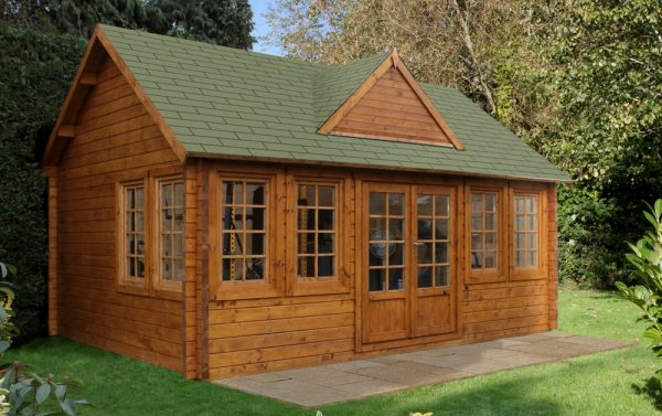 Forest Cheviot Log Cabin - 18ft x 13ft