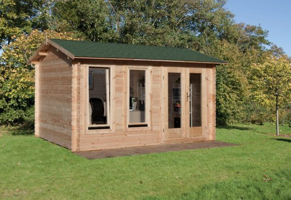 Forest Chiltern Log Cabin - 13ft x 10ft