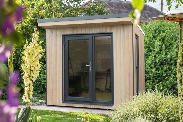 Forest Garden Xtend 2.5M + Premium Fully Insulated Garden Office (Installation Included)