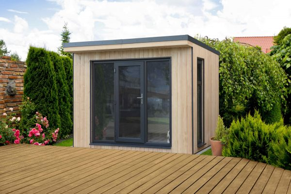 Forest Garden Xtend 3.0M Fully Insulated Garden Office (Installation Included)
