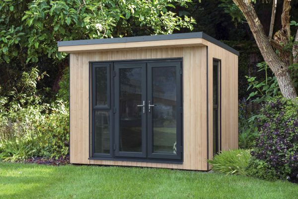 Forest Garden Xtend 3.0M + Premium Fully Insulated Garden Office (Installation Included)