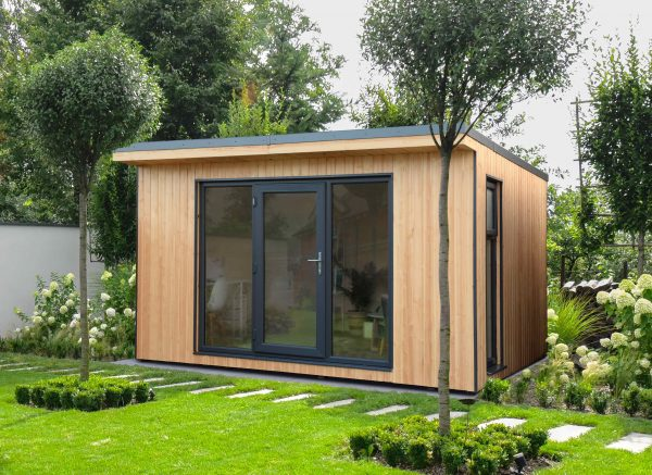 Forest Garden Xtend 4.0M Fully Insulated Garden Office (Installation Included)