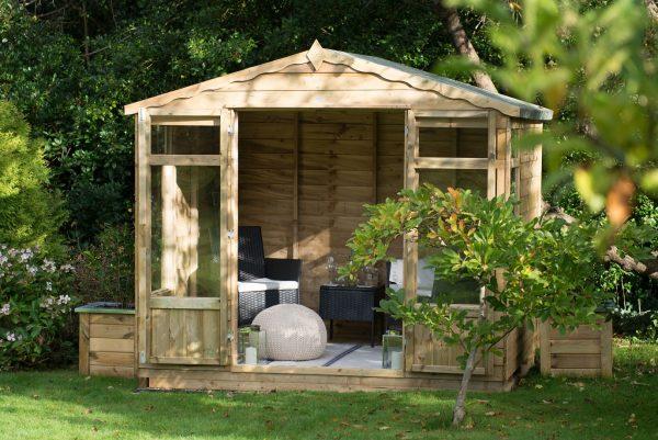 Forest Overlap Oakley Summerhouse - 8 x 6 ft