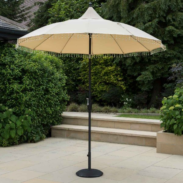 Garden Must Haves Carrousel 2.7m Parasol - Cream