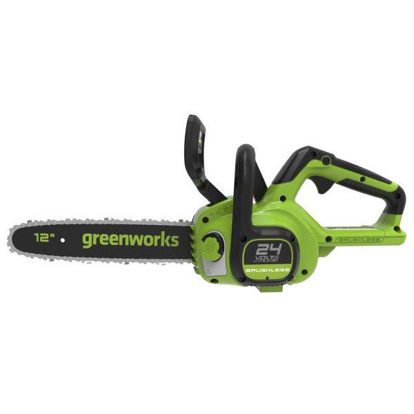 Greenworks 24V Cordless 30cm Brushless Motor Chainsaw (Tool Only)