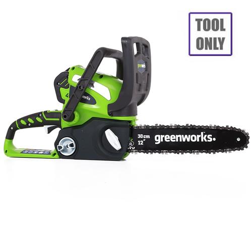 Greenworks G40CS30 40v Cordless Chainsaw (no battery)