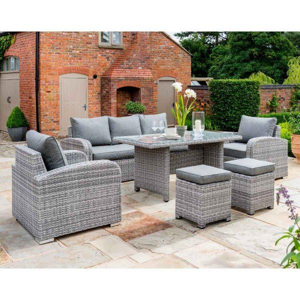 Handpicked Longbeach Lounge Set - Grey