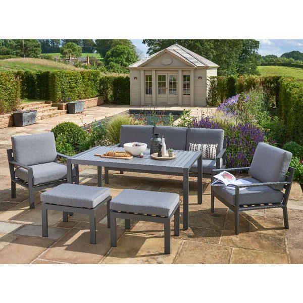 Handpicked Titchwell Lounge Set - Grey