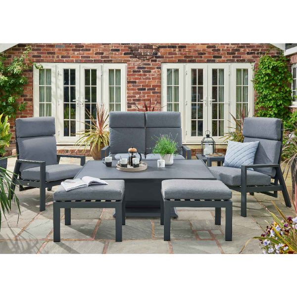 Handpicked Titchwell Relax Lounge Set - Grey