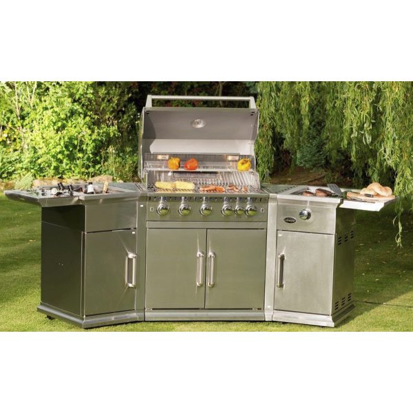 Lifestyle Appliances Bahama Island Stainless Steel Gas Barbecue