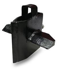 Mitox Multisplit Log Splitter 4-Way Splitting Wedge - Horizontal